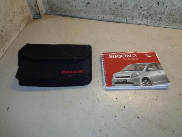 Instructieboekje Daihatsu Sirion 2 1.0-12V Trend ('05-'12) PM00100365