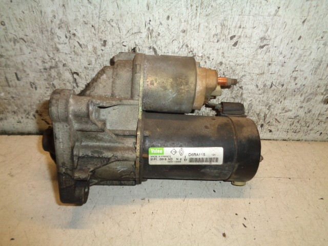 Startmotor Renault Clio II 1.9 dTi Expression ('98-'08) 0001106917