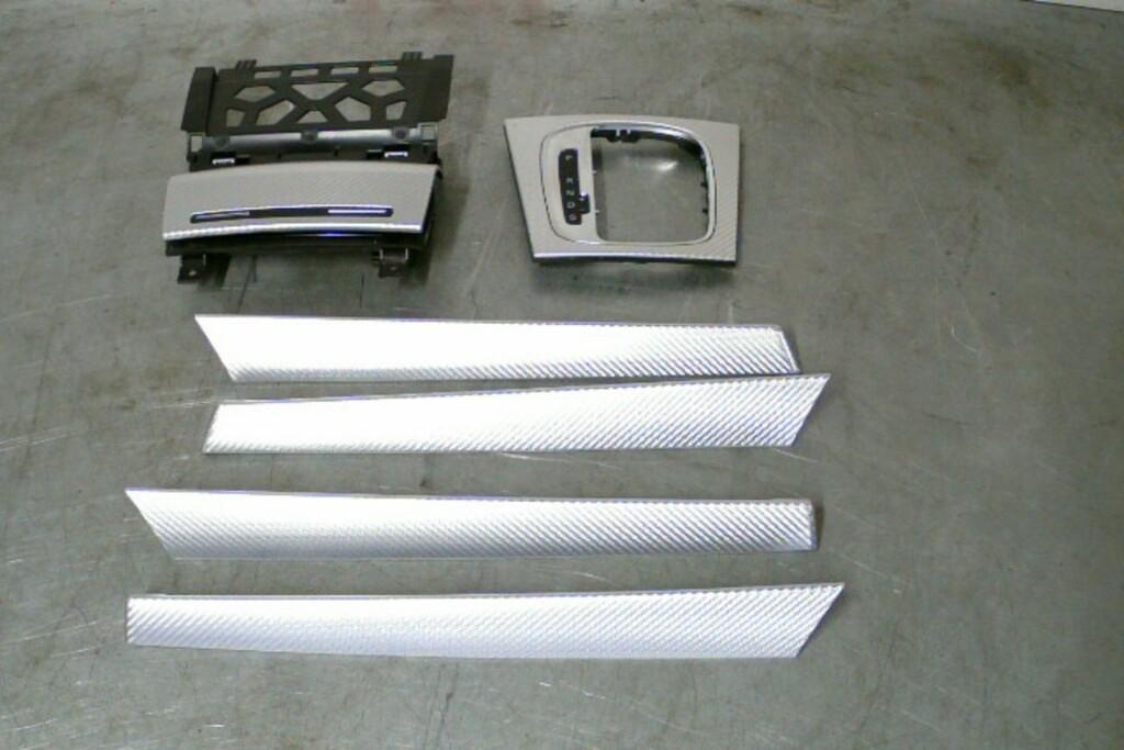 Alu-Carbonlook Interieurlijsten WG1 Audi A3 / RS3 8P SB