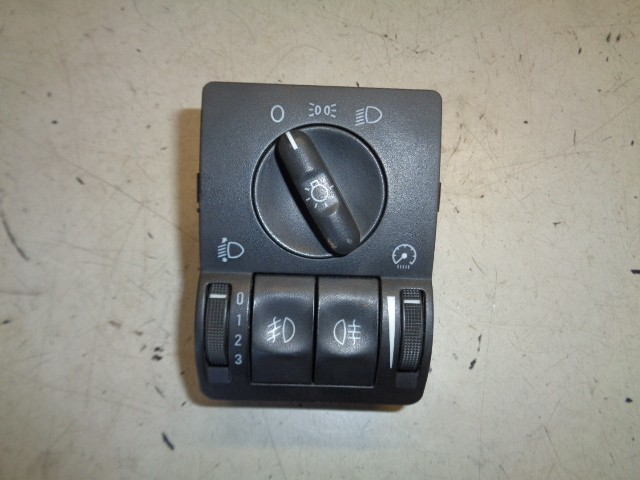 Lichtschakelaar zwart Opel Corsa C 1.4-16V Cosmo ('00-'06) 9116609