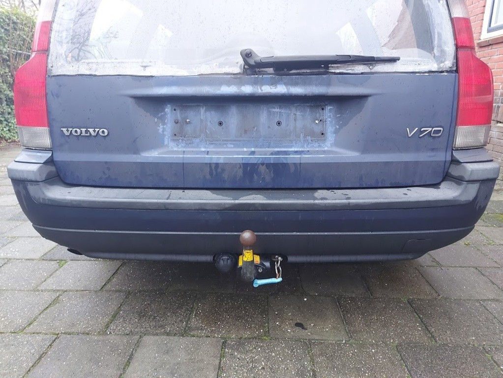 Achterbumper bumper blauw 450-26 Volvo V70 II 2.4 D5