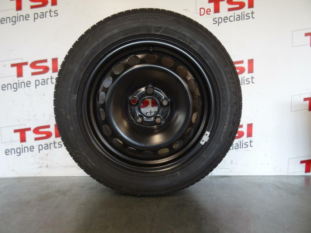 Nieuwe Velg 3C0601027M/N + Band 205/55/16 Bridgestone VAG
