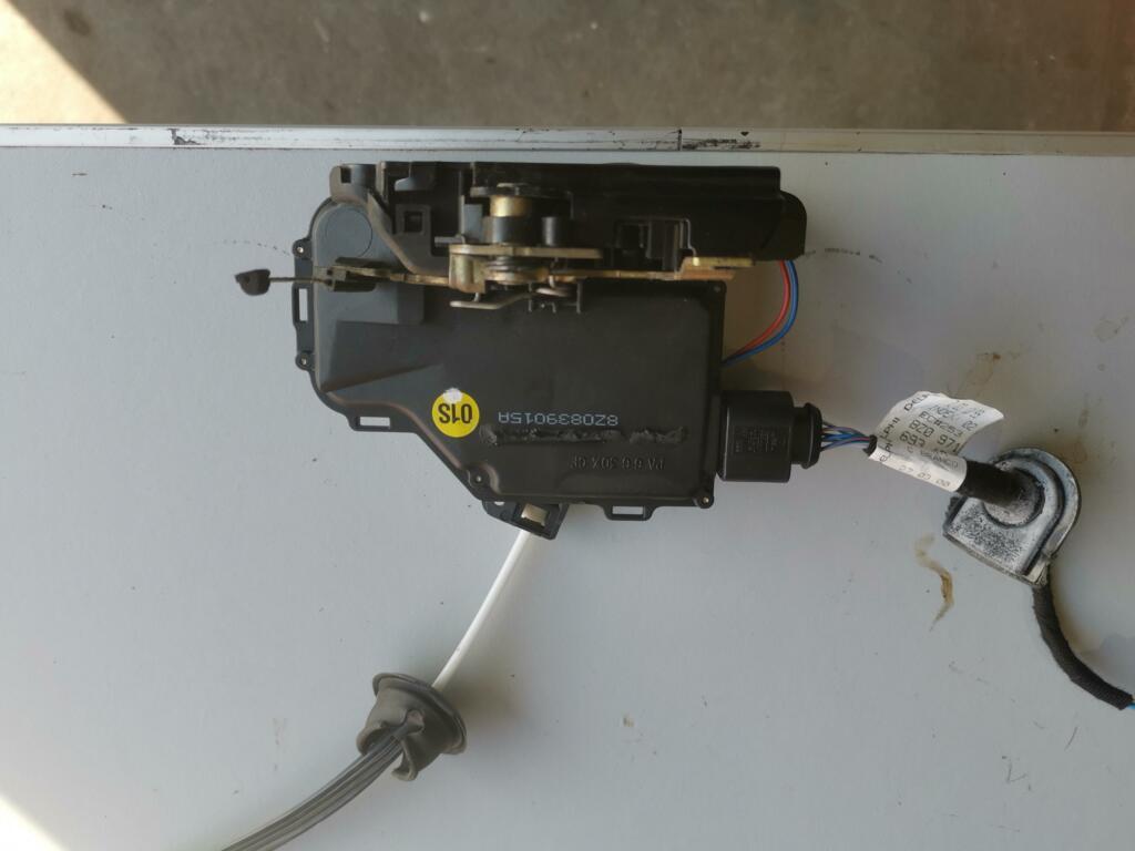 Slotmechanisme deur laen ra orig. elekt. Audi A2 ('00-'05)