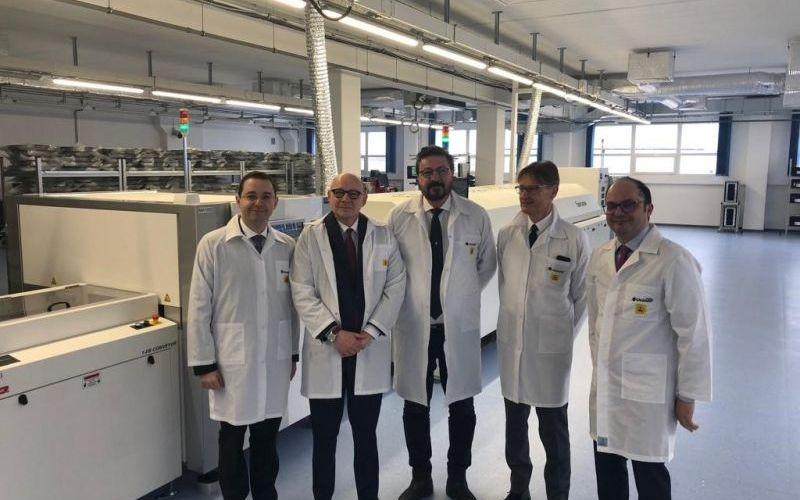Italian Embassy delegation visiting Calearo Slovakia