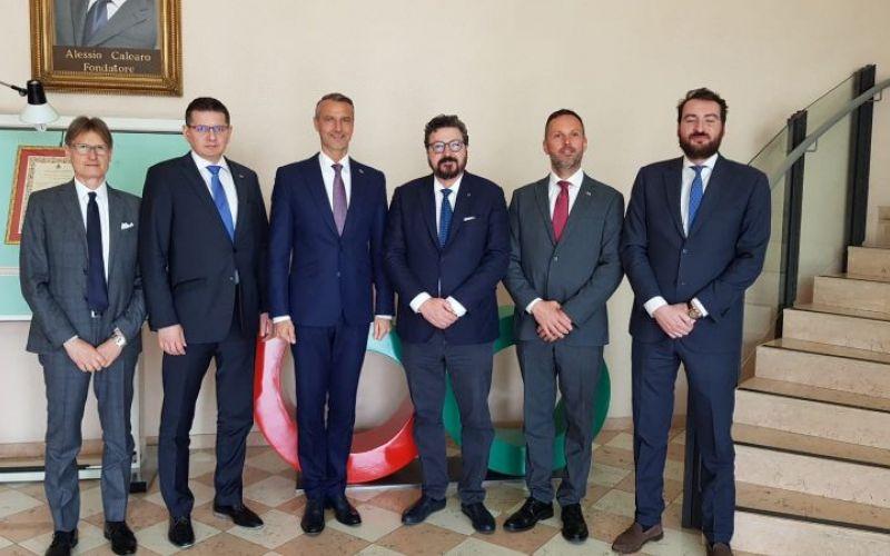 Visita della Delegazione del Governo Slovacco