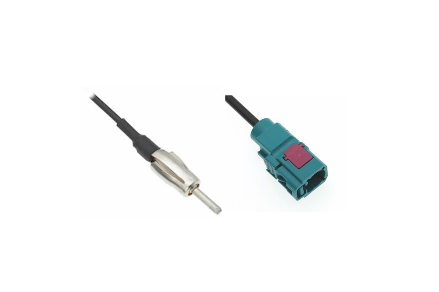DIN M TO FAKRA F ADAPTER CABLE
