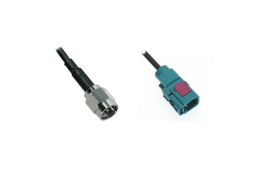 FAKRA F TO SMA M ADAPTER CABLE