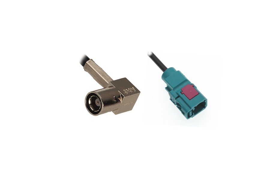 FAKRA F to SMB F 90° ADAPTER CABLE
