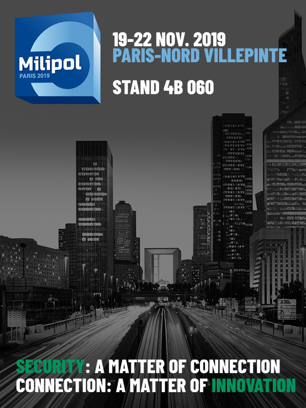 Meet us at MILIPOL 2019