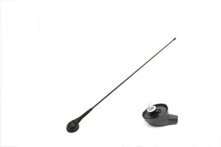 UNIVERSAL FRONT ROOF ANTENNA Ø10,2mm WITH CABLE