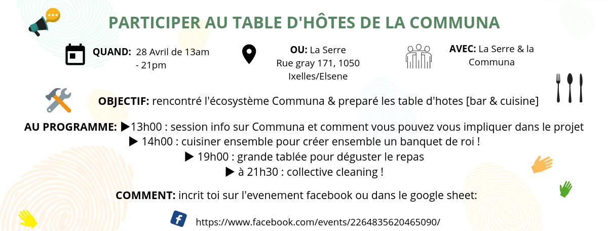 Tables D'Hotes la Communa