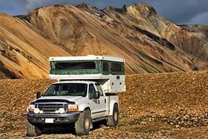 Mal auf Inseln campen mit einem Wohnmobil? – Island