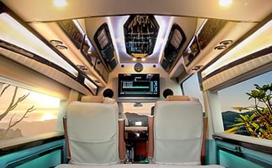 Luxus Wohnmobil mieten