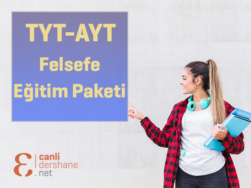 AYT-TYT Felsefe Eğitim Paketi - 1 Yıllık