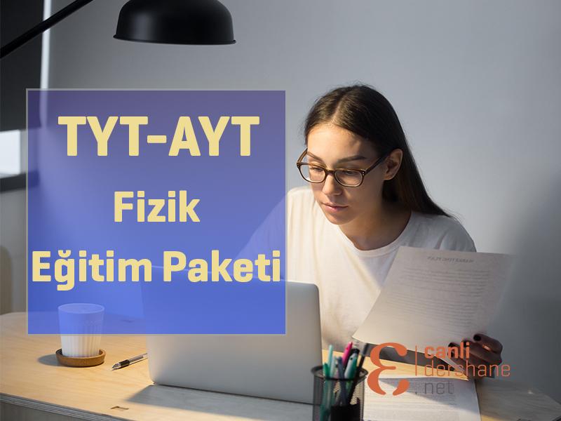 AYT-TYT Fizik Online Sorubankası - 1 Yıllık