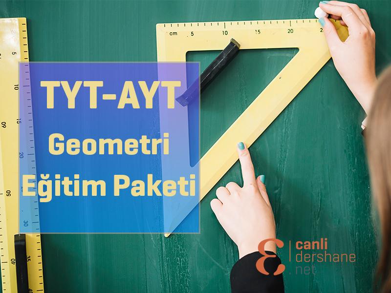 AYT-TYT Geometri Online Sorubankası - 1 Yıllık