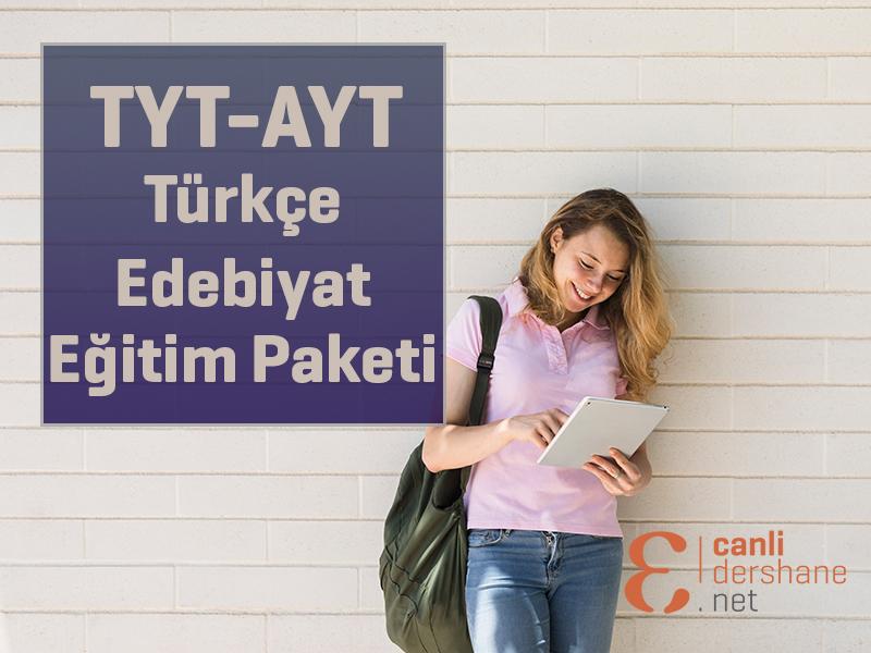 AYT-TYT Türkçe - Edebiyat Online Sorubankası - 1 Yıllık