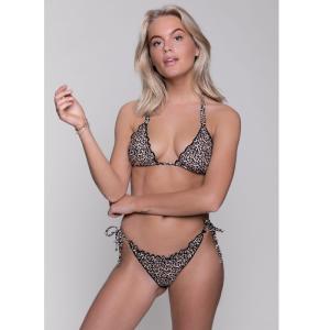 Bruine bikini bottom Jade Leopard