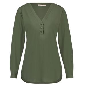 Armygroene blouse Evi