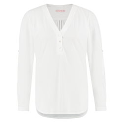 Witte blouse Evi