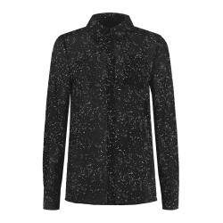 Zwarte blouse Fylene