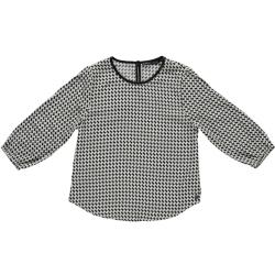 Zwarte geprinte blouse Jasmin