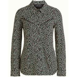 Zwarte blouse Nala Sevres - XL