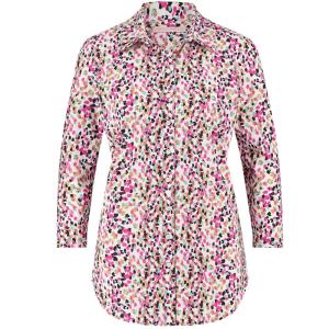 Wit geprinte blouse Poppy Arti Dot