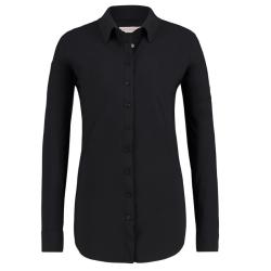 Zwarte blouse Poppy Travel