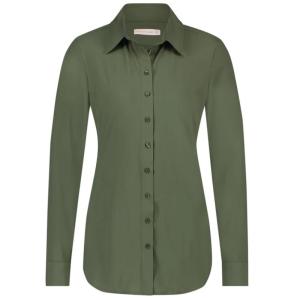 Armygroene blouse Poppy