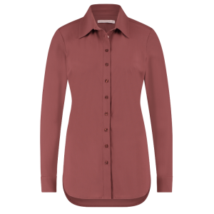 Wijnrode blouse Poppy