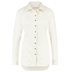 Witte blouse Poppy Suede