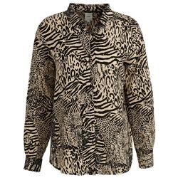 Bruine blouse Vera