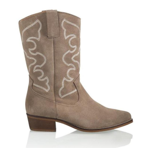 Taupe western boot Florida