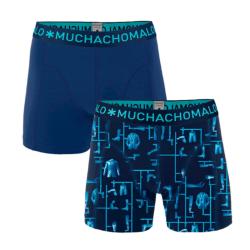 Blauwe shorts Kitt - XL