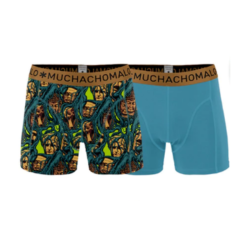 Blauw geprinte shorts Roots