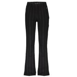 Zwarte pinstripe broek Pelli