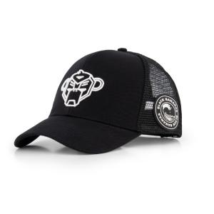 Zwarte cap Wavy Trucker