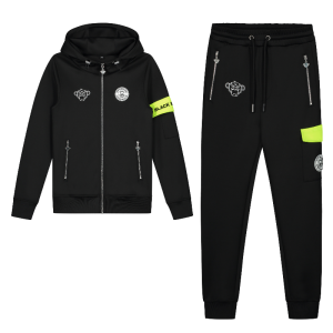 Zwarte tracksuit Command Jr.