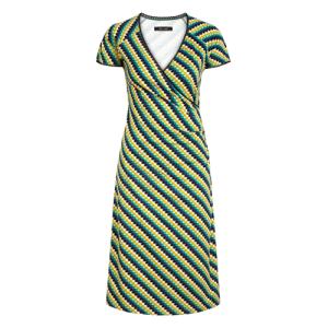 Groen geprinte jurk Cross Daze