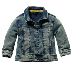 Blauwe denim jacket Gers