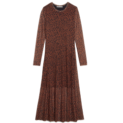 Bruine jurk Caramel Spots