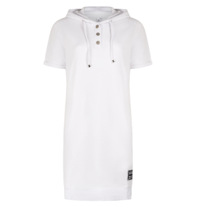 Witte hoody dress Eve