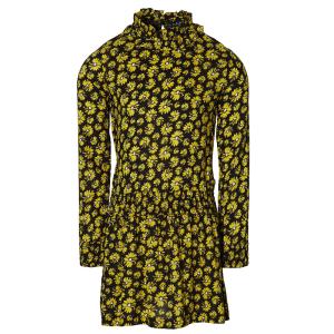 Geel geprinte jurk Fanny