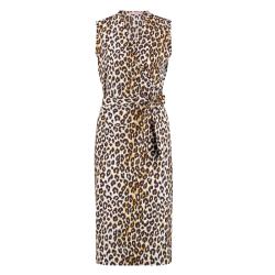 Geprinte jurk Gigi Leopard