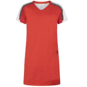 Rode sweat dress Saskia