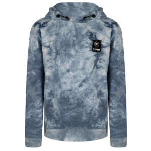 Lichtblauwe hoodie Tie Dye
