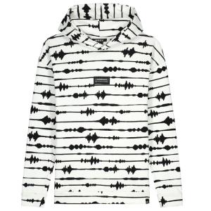 Witte hoodie Ayden