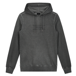 Grijze hoodie Barbed Logo Regular