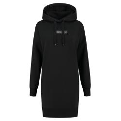 Zwarte hoodie jurk Style Code